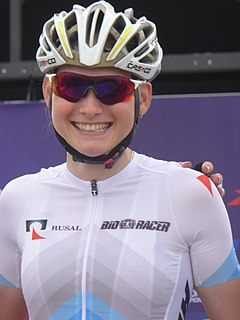Anastasiia Pliaskina Russian cyclist