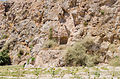 Ancient rock cut tomb 3 and 4 - Santorini - Greece - 01.jpg