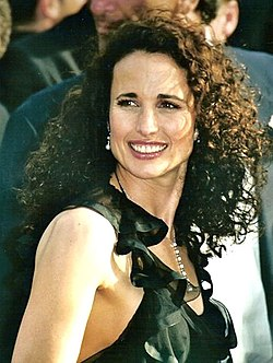 affiche Andie MacDowell