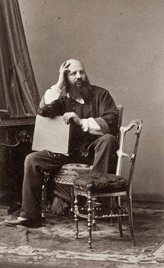André-Adolphe-Eugène Disdéri - Self-portrait, c. 1860 (Paris, musée d'Orsay)