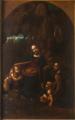 Andrea Bianchi, dit il Vespino - La Vierge aux rochers (d'après Léonard de Vinci) - entre 1611et 1614 - Milan, pinacoteca Ambrosiana.png