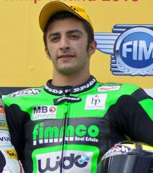 Andrea Iannone - Iannone at the 2010 Australian Grand Prix.