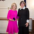 Andrea Mitchell and Pennsylvania First Lady Frances Wolf.jpg