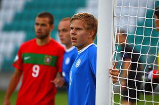 Andreas Raudsepp Estonian footballer