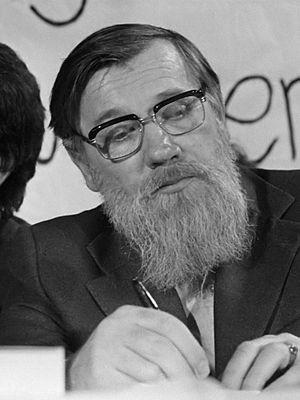 Andrei Sinyavsky - Sinyavsky in Amsterdam, 29 November 1975