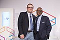 Andrew Freedman (Mashabale) and Al Roker (17504345314).jpg