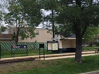 Andrews Avenue station SEPTA trolley station