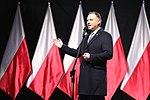 Andrzej Duda Prezydent RP przemawia podczas odsłonięcia pomnika śp. Prezydenta Lecha Kaczyńskiego.jpg