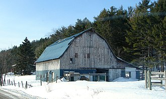 L'Ange-Gardien, Outaouais, Quebec - Barn in L'Ange-Gardien