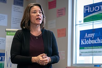 Angie Craig - Angie Craig at a campaign event in Apple Valley, Minnesota