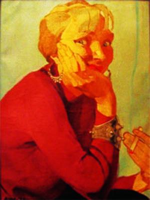 Anita Parkhurst Willcox - Anita Parkhurst Willcox, self-portrait, oils, 1936
