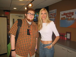 Author & media personality Ann Coulter (right).