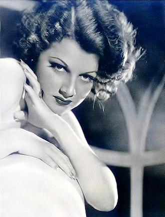 Ann Sheridan - Sheridan in 1934
