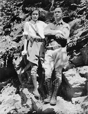 Odd Dahl - Odd Dahl with his wife Anna