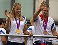 Anna Watkins and James Foad - Greatest Team Parade.jpg
