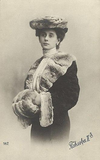 Anna Pavlova - Anna Pavlova, c. 1905.