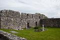 Annaghdown Abbey of St. Mary de Portu Patrum Cloister 2010 09 12.jpg
