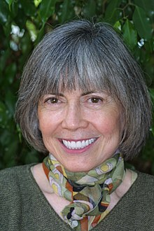 Portrait d'Anne Rice.