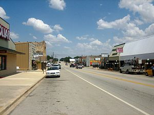 Goldthwaite, Texas - Image: Another look at downtown Goldthwaite IMG 0782