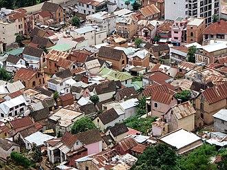 Roof - Roofs of Antananarivo, Madagascar