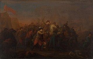 Batalje mellem danske og svenske under Kalmarkrigen 1611-1613