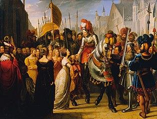 Der Einzug Kaiser Maximilians I. in Gent