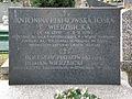Antonina Piątkowska Tośka - Bolesław Piątkowski - Roman Wierzbicki - Cmentarz Wojskowy na Powązkach (134).JPG