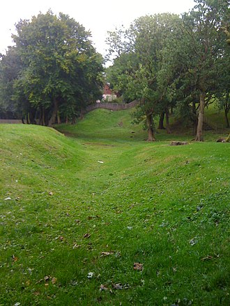 Watling Lodge - Image: Antonine Wall at Watling Lodge (geograph 3175254)