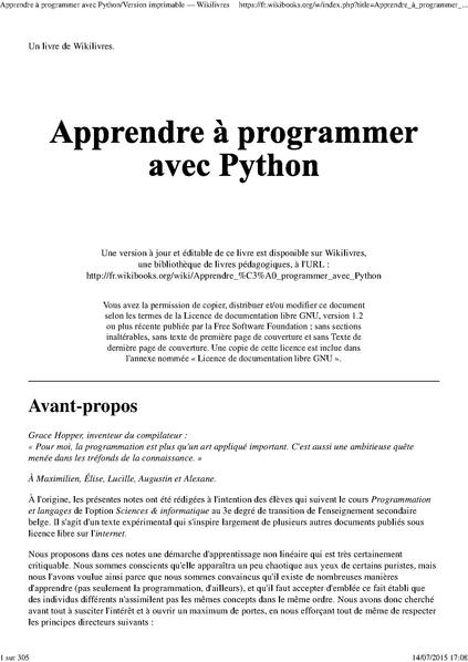 File:Apprendre à programmer avec Python-fr.pdf