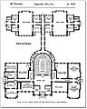 Architectural measured drawings showing the floor plans of the Toronto Normal and Model Schools, 1857.jpg