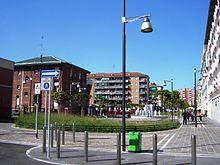 L'area pedonale di via De Roberto