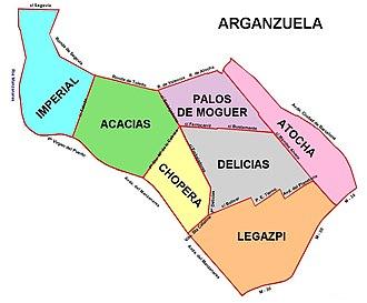 Las Acacias (Madrid) - Image: Arganzuela