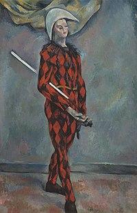 Arlequin, par Paul Cézanne, NGA.jpg