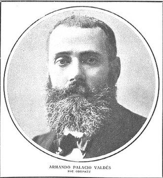 Armando Palacio Valdés - Image: Armando Palacio Valdés, de Compañy, en Nuevo Mundo