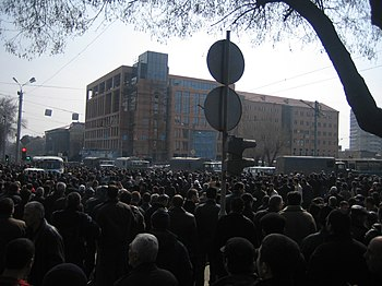 Armenian Presidential Elections 2008 Protest D...