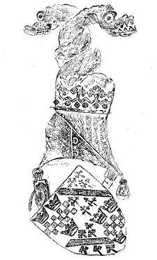 Arms Alexander Stewart Earl of Mar