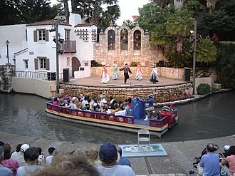 Arneson River Theater - The Arneson River Theater routinely features local acts that draw large crowds throughout the year.