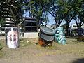 Arte callejero Buenos Aires subte línea H Parque Patricios V.jpg