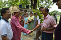 Arup Roy Shakes Hands with Binay Sadhukhan - Summer Camp - Nisana Foundation - Sibpur BE College Model High School - Howrah 2013-06-09 9723.JPG