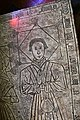 Ashwell, St Mary's church, Incised slab (detail) (41888252172).jpg