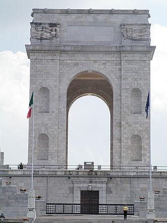 Asiago - Alpine-War 1915-1918 Monument in Asiago.