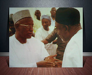 Abubakar Saleh Michika - Courtesy Call to Governor Murtala Nyako