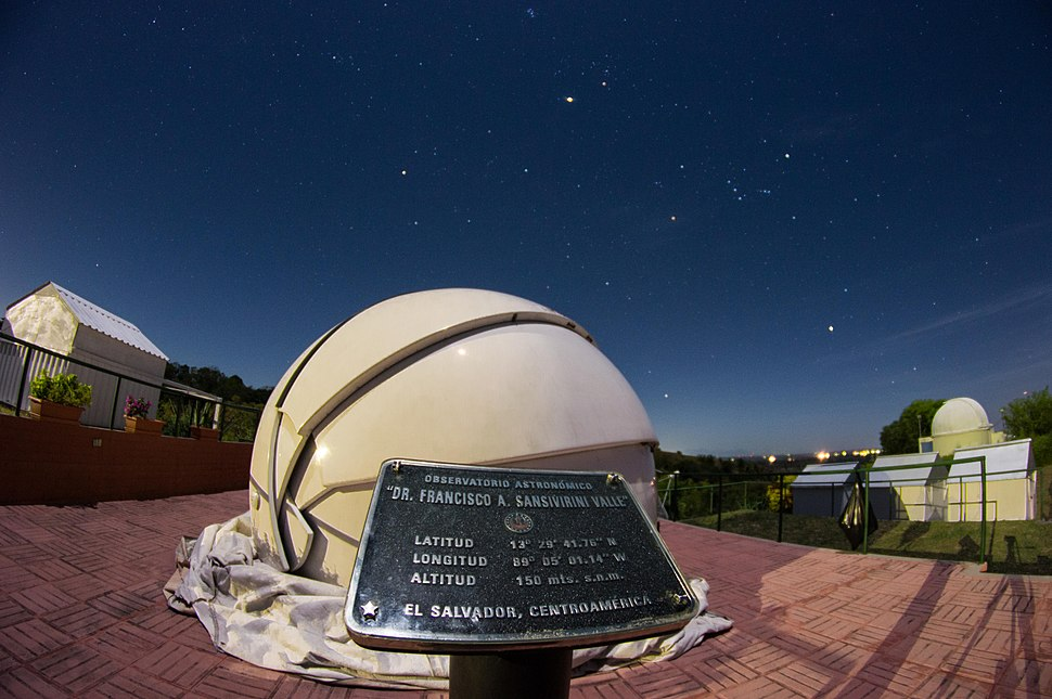 Asociaci%C3%B3n Salvadore%C3%B1a de Astronom%C3%ADa Observatorio %22Dr. Prudencio Llach%22