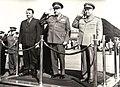 Aspect de la sosirea delegaţiei militare iugoslave, condusă de Ivan Gosnjak, secretar de stat pentru Apărarea Naţională a R.S.F. Iugoslavia.jpg