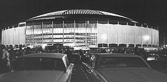 Astrodome - The Astrodome in 1965