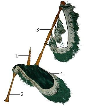 Gaita asturiana - Image: Asturian pipe