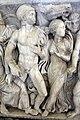 Atene, sarcofago con achille licomede, 240 dc ca, da roma, collez. borghese, 04.JPG