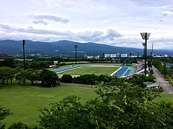 Athletic Field in the Susono City Sports Park.jpg