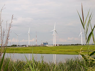 Wind power in New Jersey - Jersey-Atlantic is the first coastal wind farm in the USA