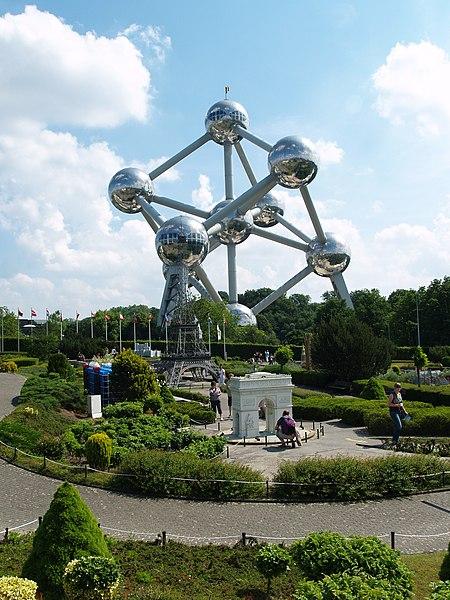 File:Atomium - Mini-Europa - panoramio.jpg